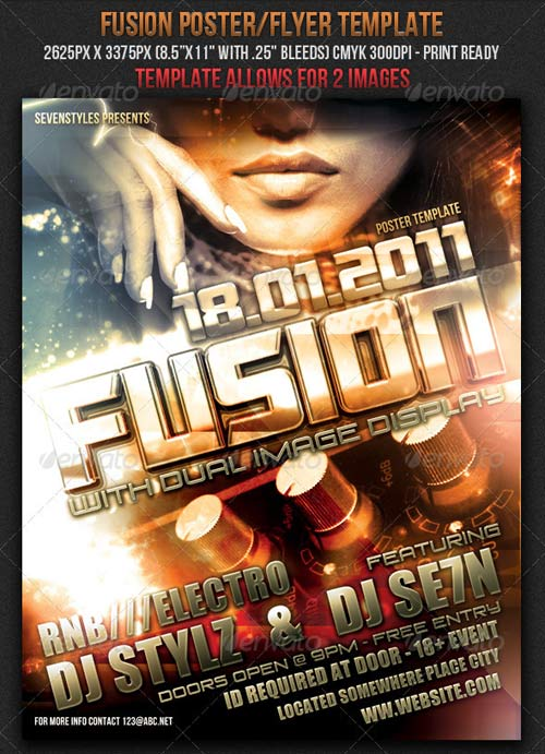 GraphicRiver Fusion Poster/Flyer Template