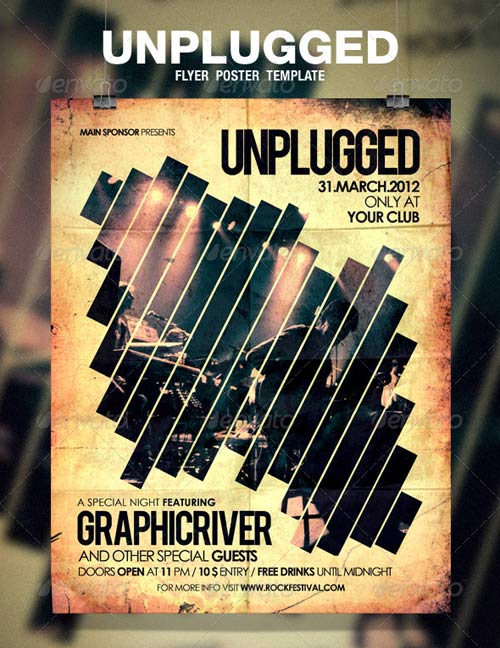 GraphicRiver Unplugged Flyer / Poster