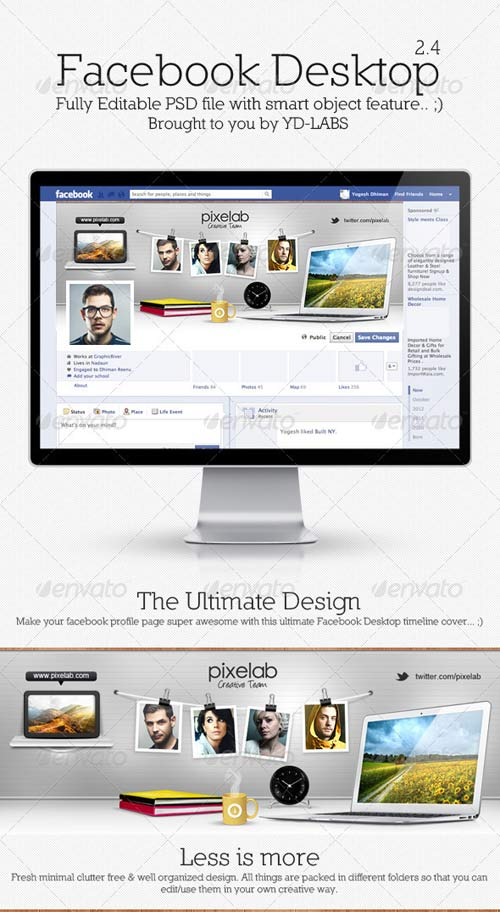 GraphicRiver FB Desktop 2.4
