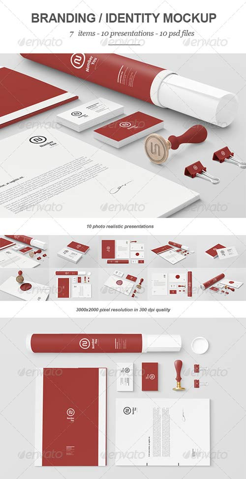 GraphicRiver Branding / Identity Mock-up III
