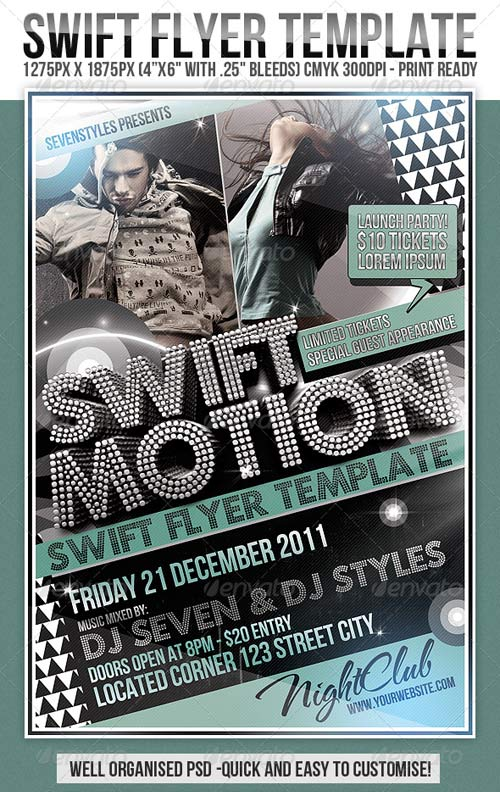 GraphicRiver Swift Flyer Template