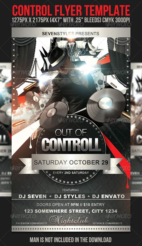 GraphicRiver Control Flyer Template