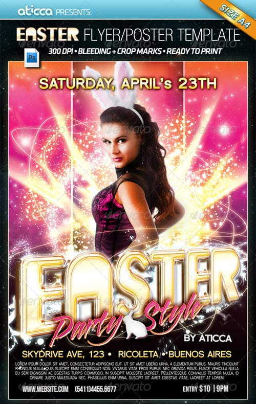 GraphicRiver Easter Party - Poster & Flyer Template
