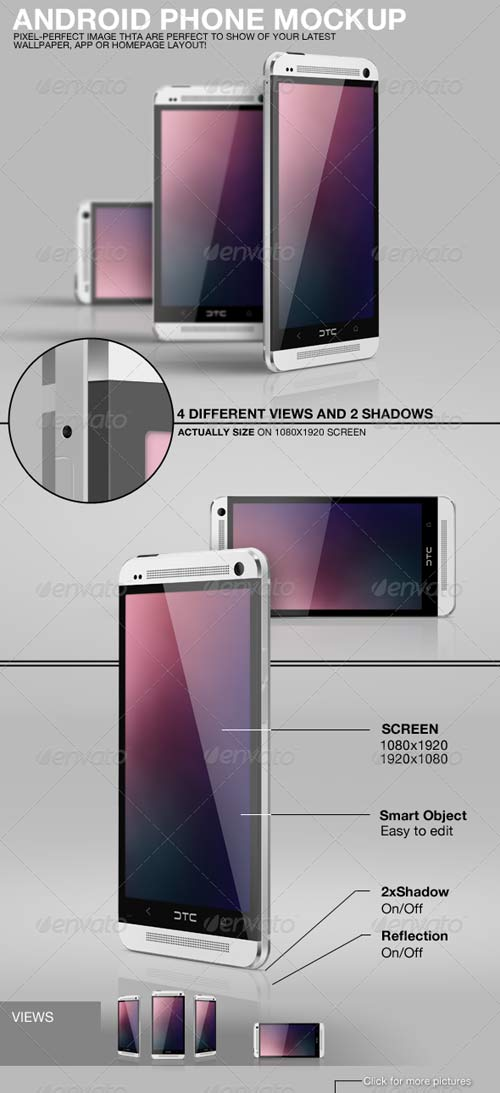 GraphicRiver Android Phone Mockup