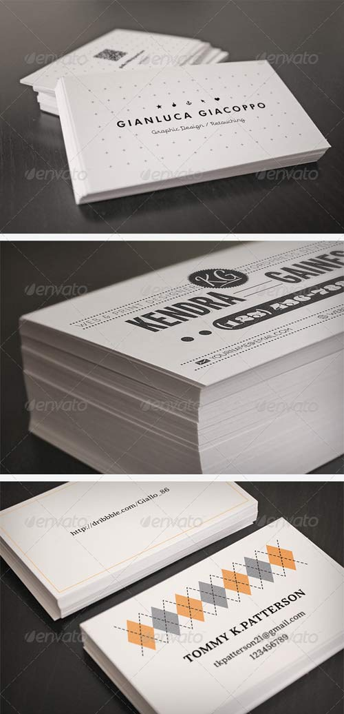 GraphicRiver Flyer and Business Card Clean Realistic Mockups