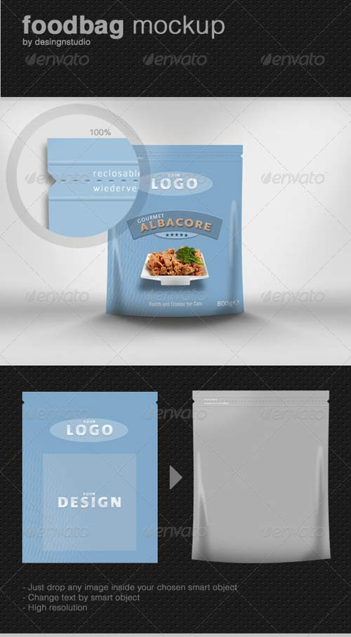 GraphicRiver Food-Bag Product Mock-Up