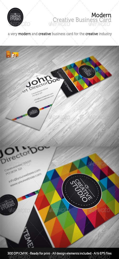 GraphicRiver RW Creative Studio Business Card