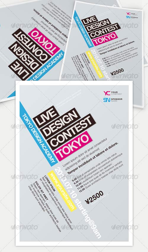 GraphicRiver Get Minimal - Flyer 02
