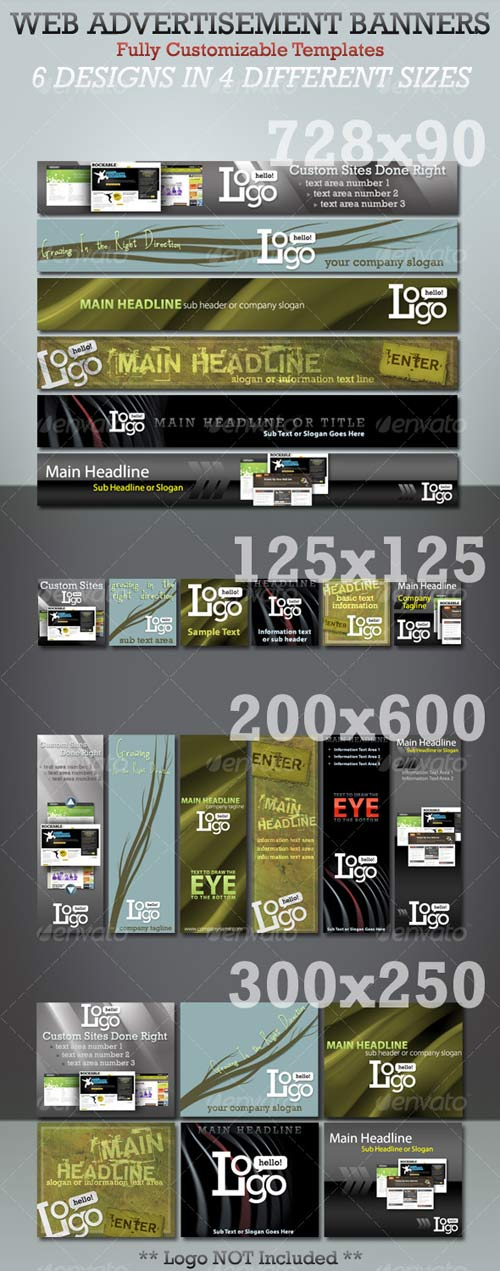 GraphicRiver Web Advertisement Banner Templates - Megapack