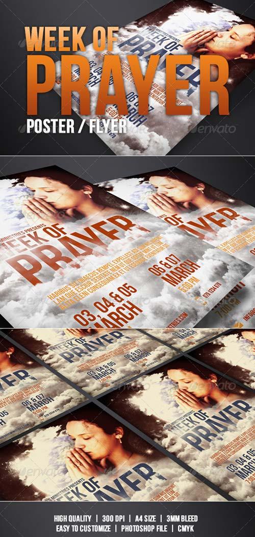 GraphicRiver Week of Prayer of Poster / Flyer