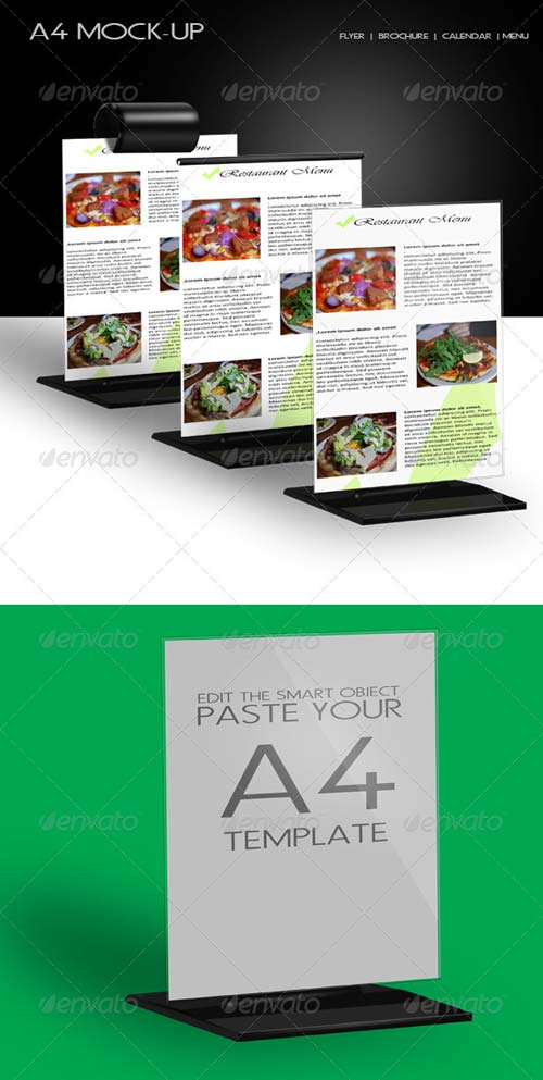 GraphicRiver A4 Mock-up
