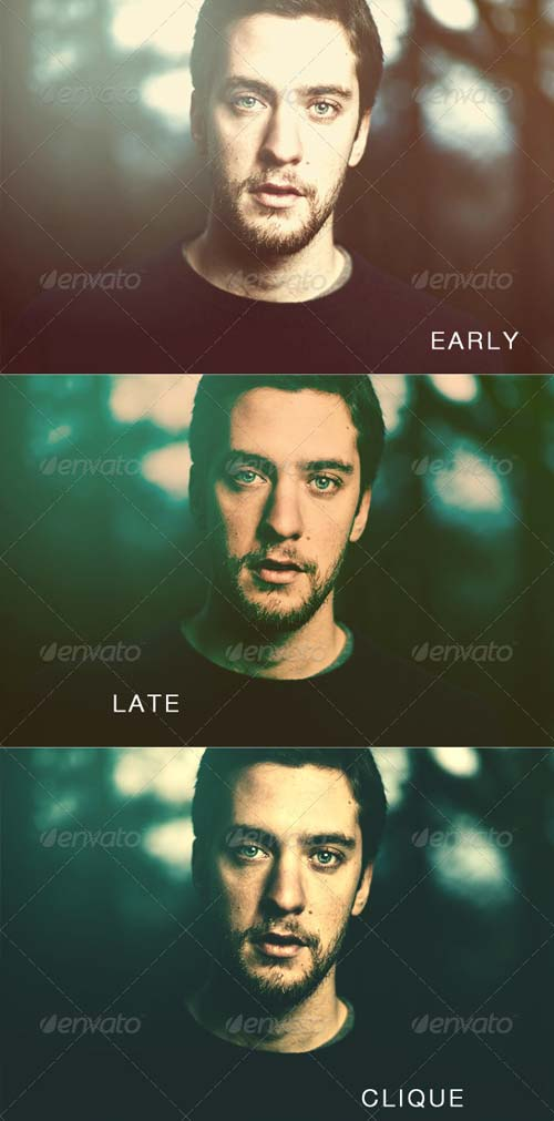 GraphicRiver Clean Light Photo Effects & Actions