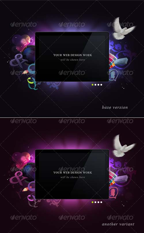 GraphicRiver Display Screen For Your Portfolio Works