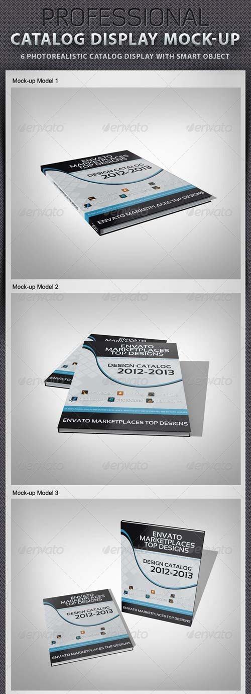 GraphicRiver Catalog Display Mock-up