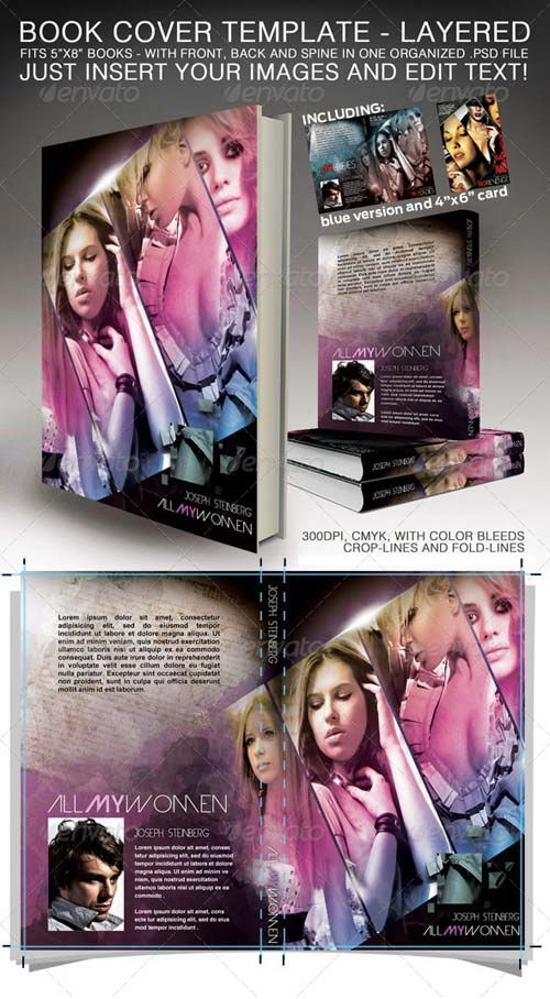 GraphicRiver Book Cover - Print ready