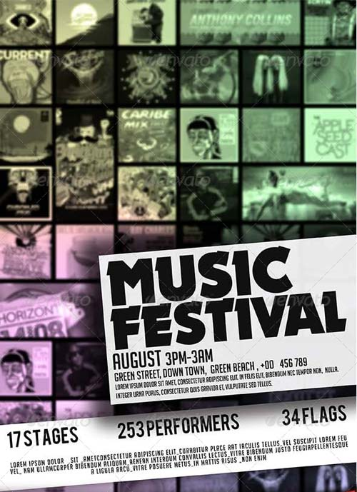 GraphicRiver Festival Flyer
