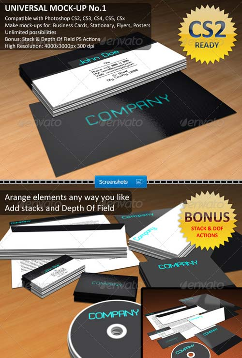 GraphicRiver Universal Mock-Up No.1