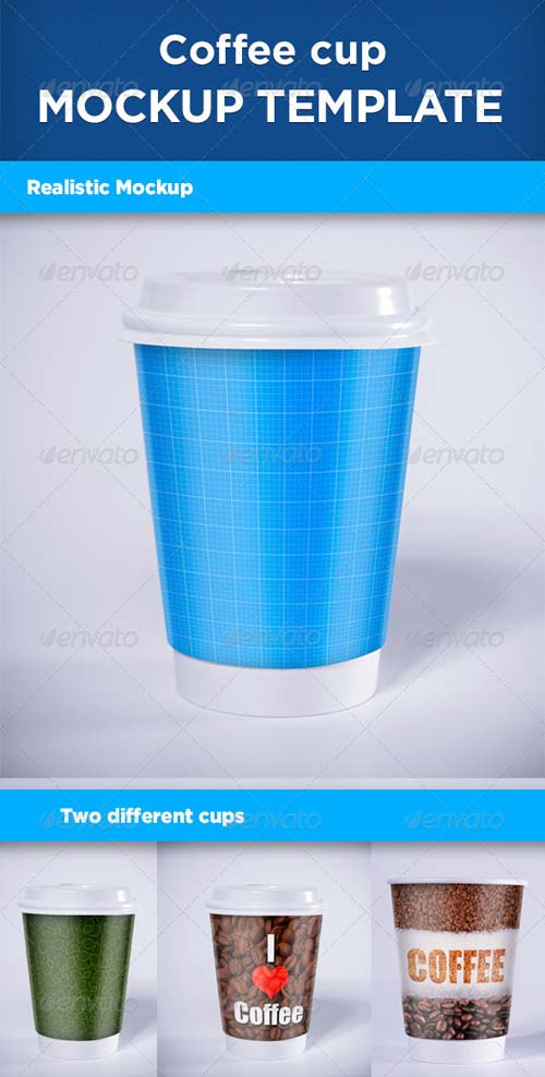 GraphicRiver Realistic Coffee Cup Mock-up