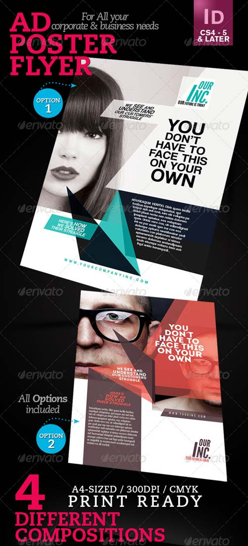 GraphicRiver Corporate Ad / Flyer / Poster V1