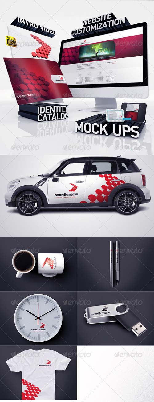 GraphicRiver Avanti Creative Corporate Identity v12