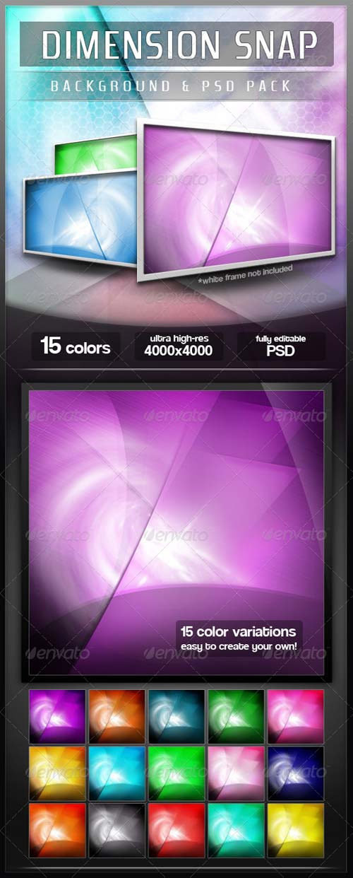 GraphicRiver 15 Ultra-High Res Abstract Backgrounds