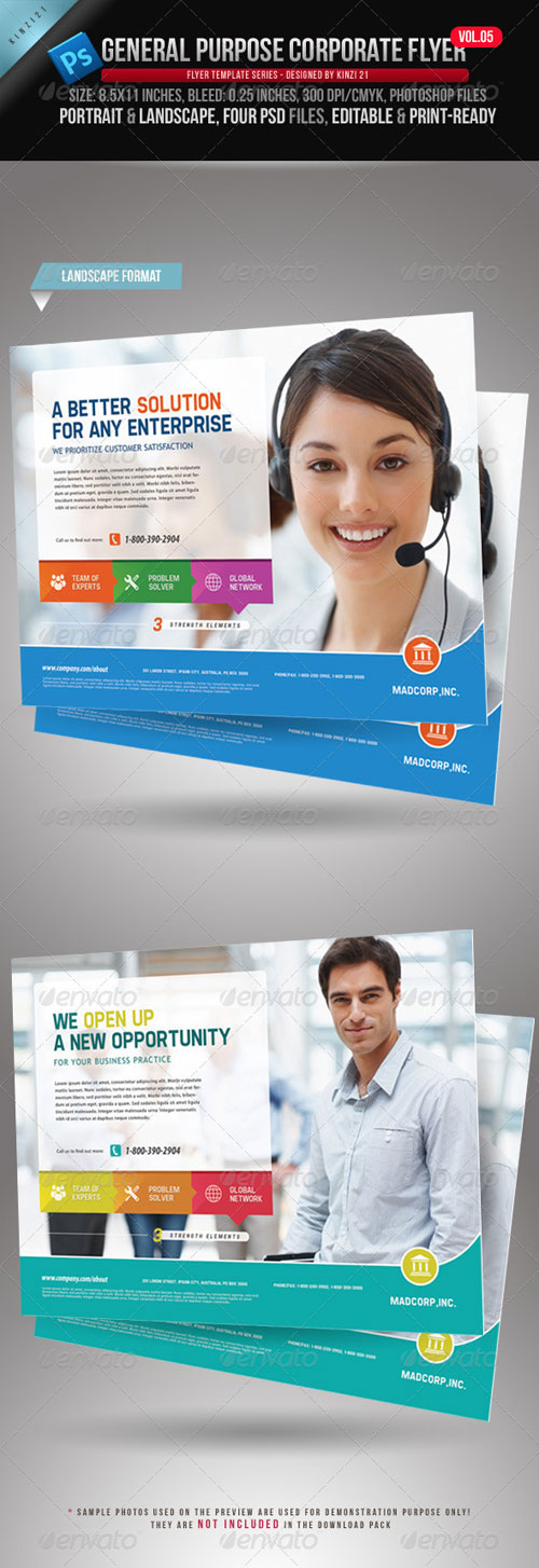 GraphicRiver General Purpose Corporate Flyer Vol. 05
