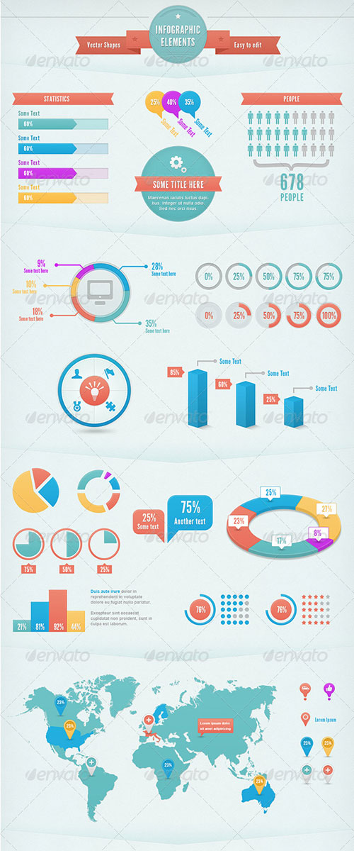 GraphicRiver Infographic Elements
