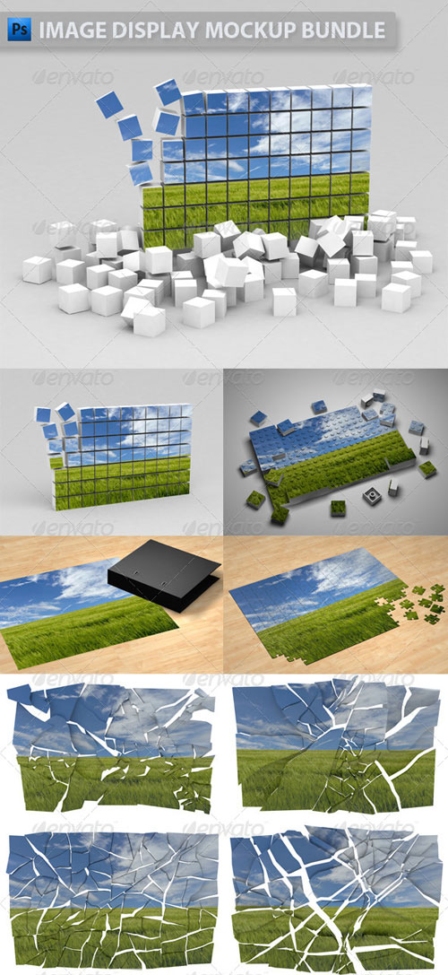 GraphicRiver Image Display Mockup Bundle