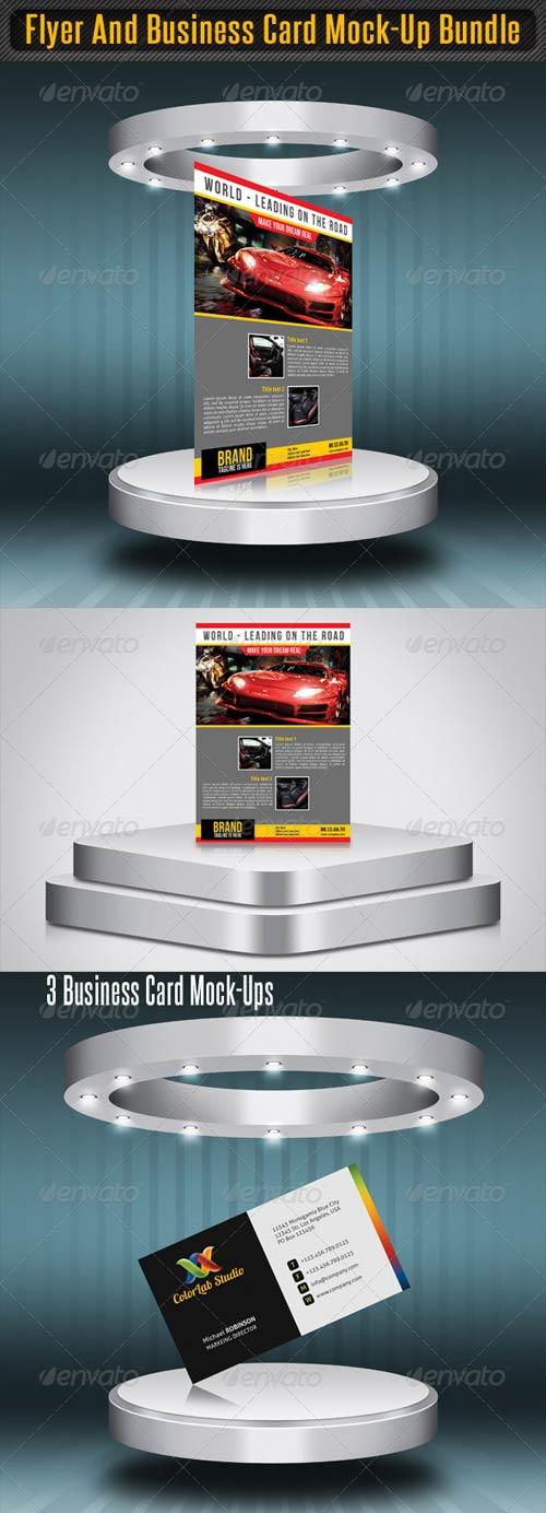Download psd templates page 880 graphicriver flyer and business card mock up bundle reheart Images