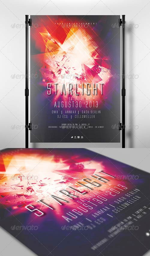 GraphicRiver Starlight Flyer Template