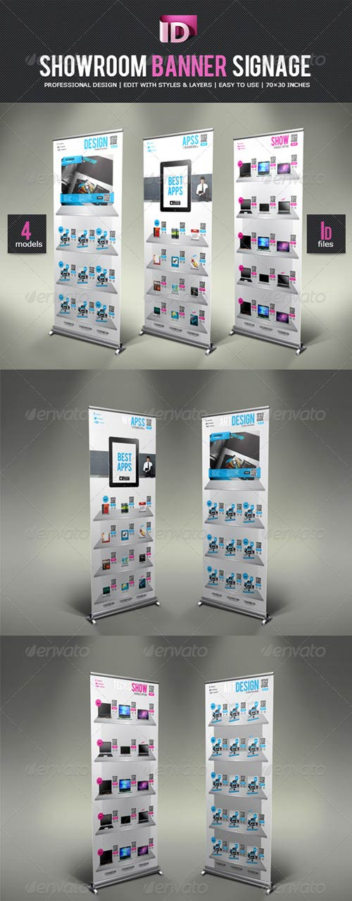 GraphicRiver ShowRoom Banner Signage