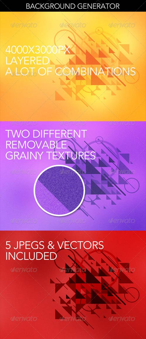 GraphicRiver Abstract Background Graphics Generator