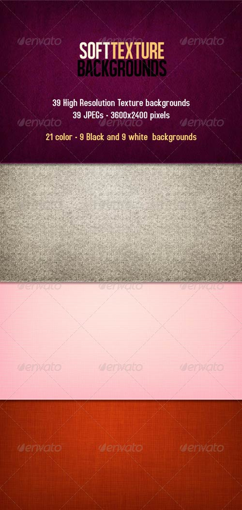 GraphicRiver Soft Texture Backgrounds