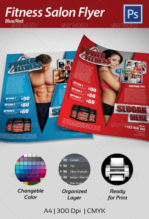 GraphicRiver Fitness Flyer