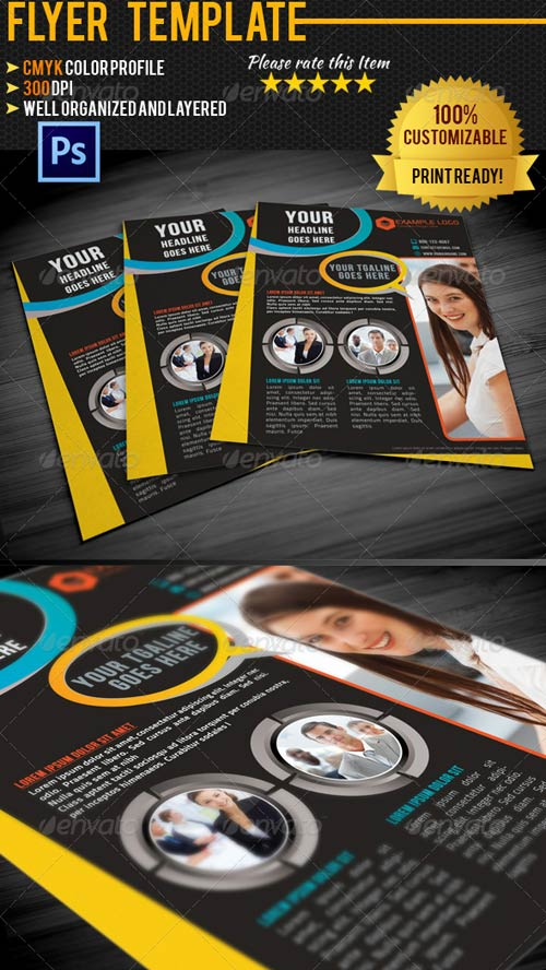 GraphicRiver Corporate Business Flyer 006