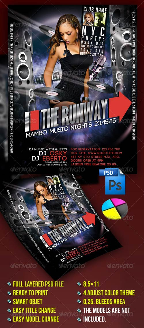 GraphicRiver The Runway Party
