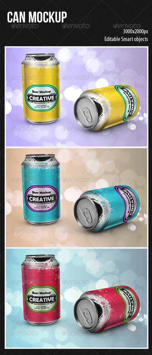 GraphicRiver Can Mockup 4439889