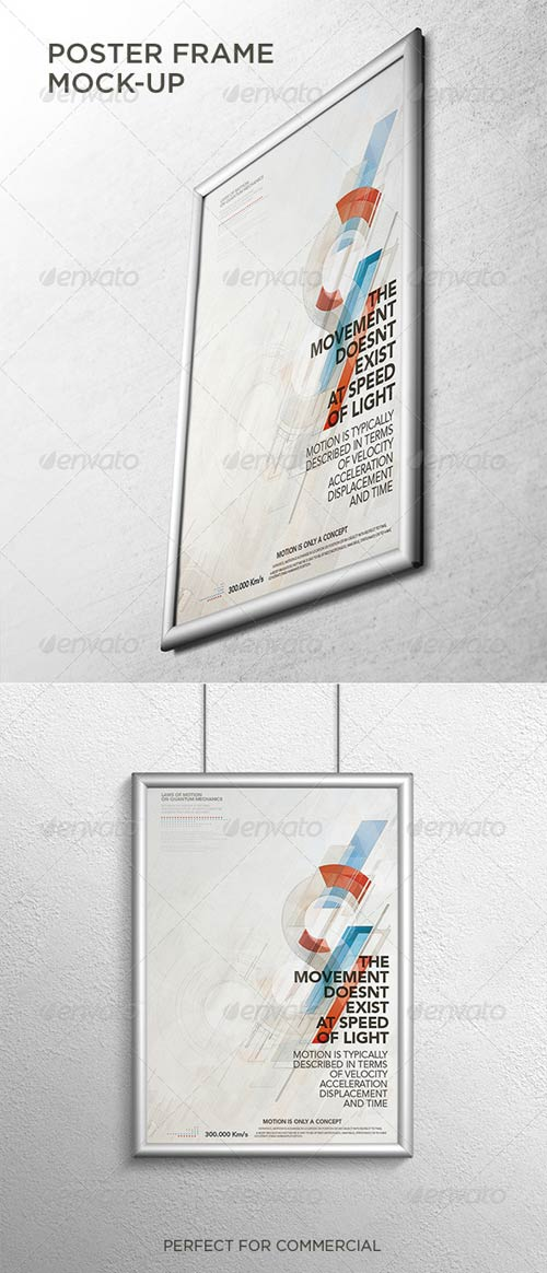 GraphicRiver Poster Frame Mock-Up