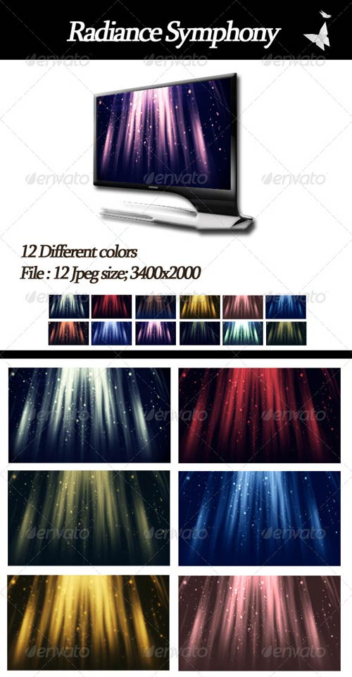 GraphicRiver Radiance Symphony Backgrounds