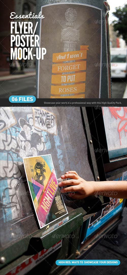 GraphicRiver Flyer | Poster | Logo Mock-Ups