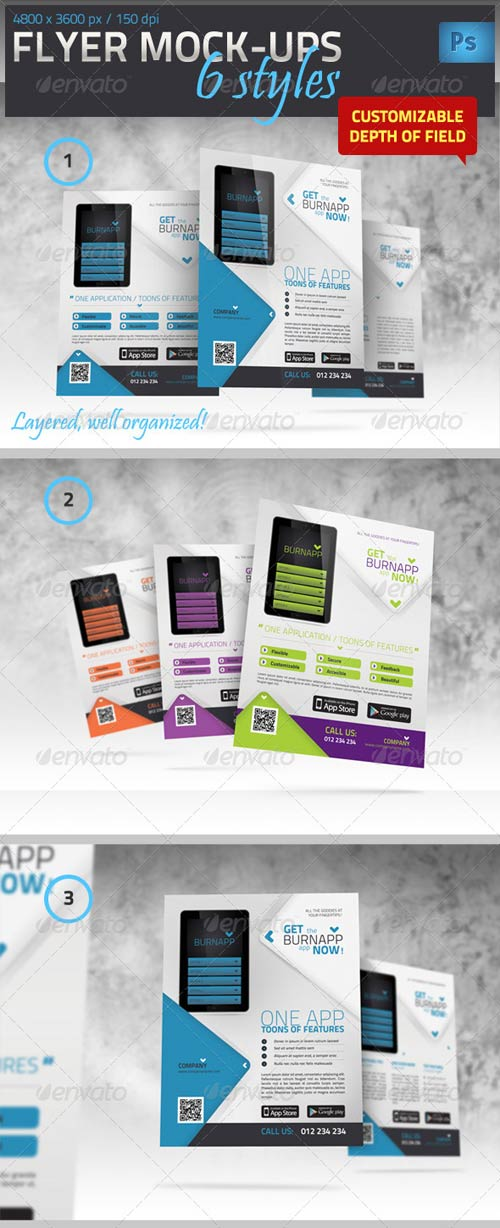 GraphicRiver Flyer / Poster Mock-Up