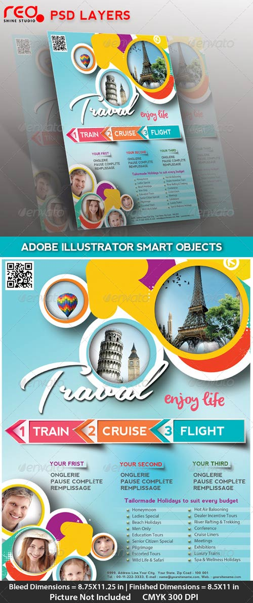 GraphicRiver Travel Flyer/Poster & Magzine Cover