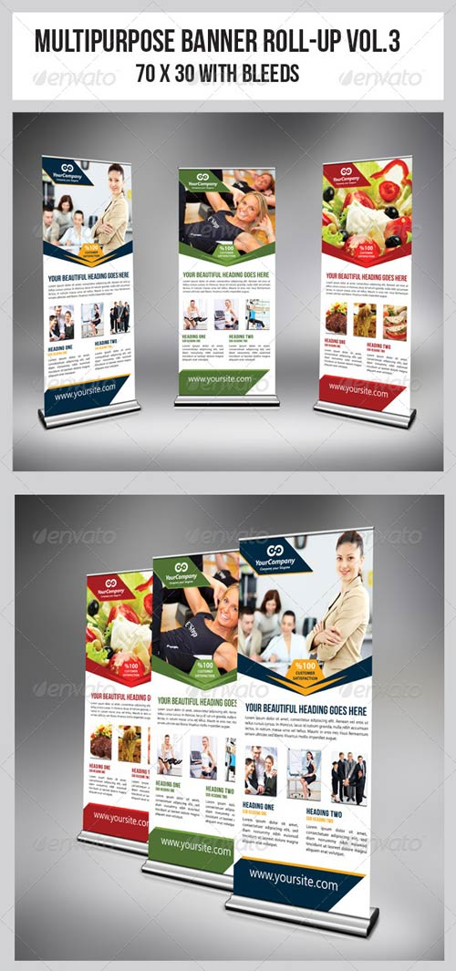GraphicRiver Multipurpose Business Roll-Up