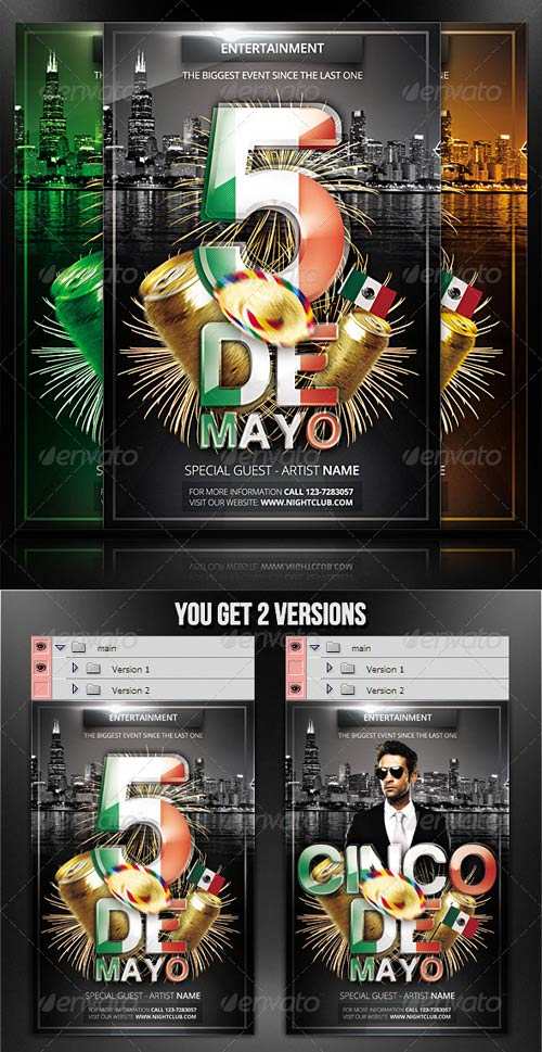 GraphicRiver Cinco De Mayo - Flyer/Poster Template