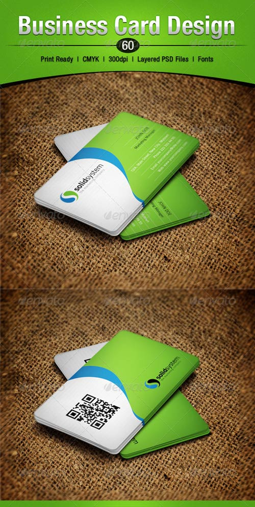 GraphicRiver Business Card Design 60