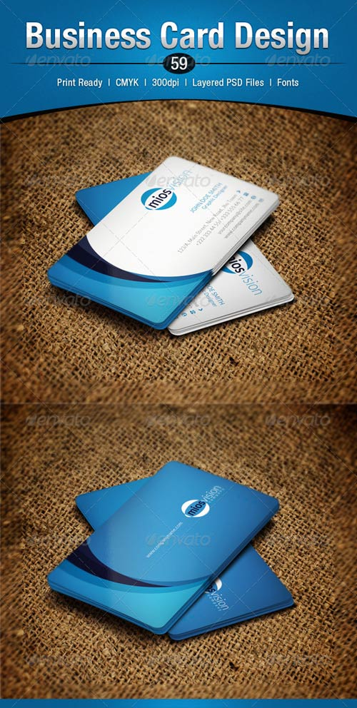 GraphicRiver Business Card Design 59