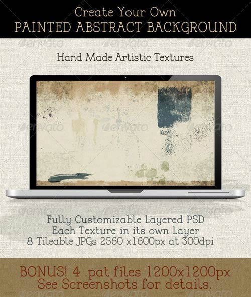 GraphicRiver Create a Modern Abstract Painting Background