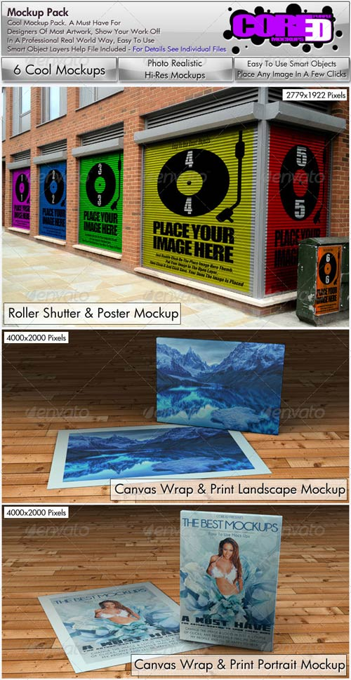 GraphicRiver Mock up Bundel Pack 9