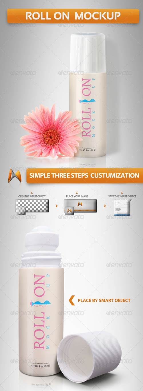 GraphicRiver Roll on Mockup