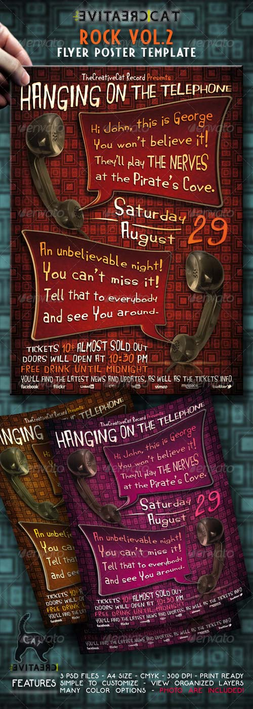 GraphicRiver ROCK FLYER/POSTER VOL.2